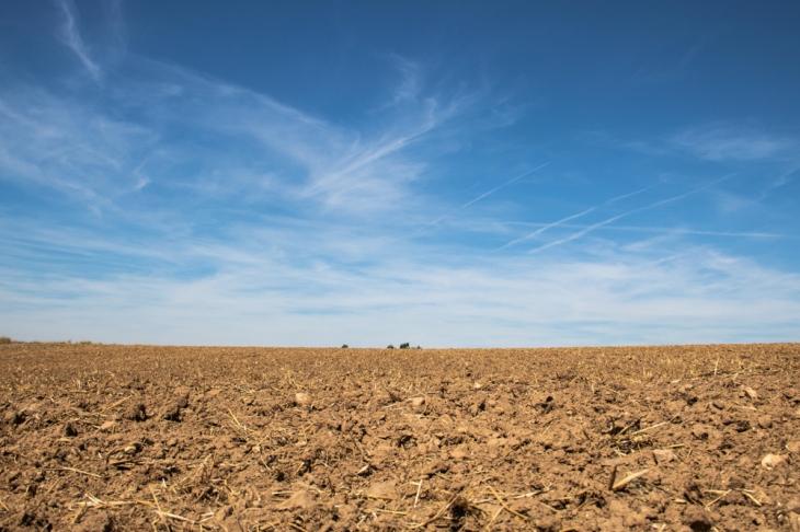 Das letzte Teilstück des Eltzer Burgpanoramas führt durch landwirtschaftliche Nutzflächen.