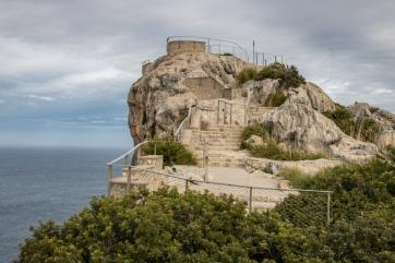 Am Aussichtspunkt Mirador Es Colomer nahe dem Cap de Formentor.