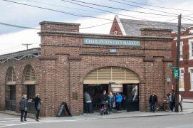 Der Eingang zum Charleston City Market.